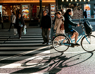 Sunlight in Tokyo   Photography
