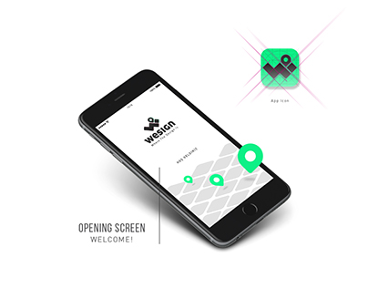 WesignApp - a mobile app for Designers