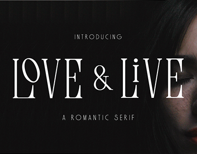 Love & Live - A Romantic Serif