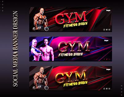 Social Media Gym Banner