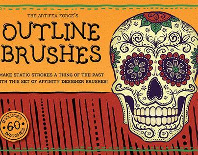 FREE Outline Brushes - for Affinity Designer