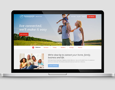 Pottawatomie Telephone Co. Web Design