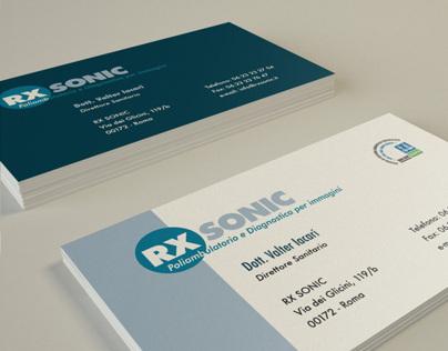 Corporate identity RX SONIC