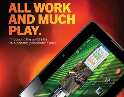 BlackBerry Playbook Ad.