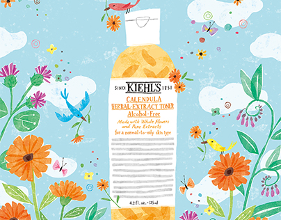 Kiehl's Artfully Made Campaign