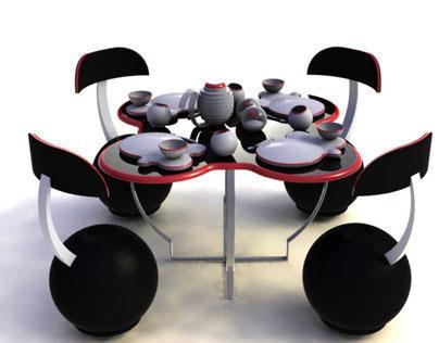 Accessory Design for a Theme Restaurant