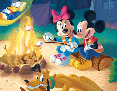 Disney Ceaco Puzzle artwork