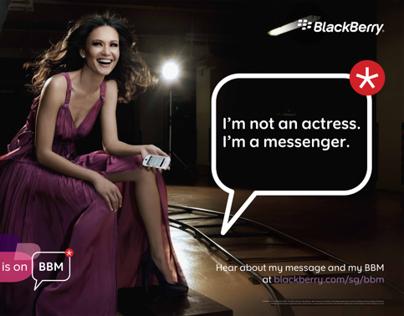 BlackBerry Messenger POSM