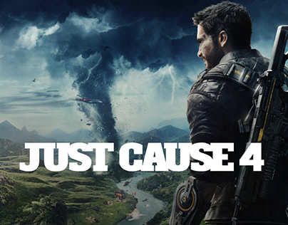 Just Cause 4 - In-game Satirical Branding/Ads