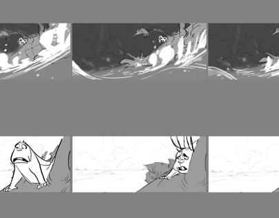 Oak Tree// Storyboards