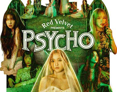 Red Velvet - Psycho Poster
