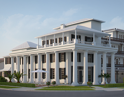 3D Renderings for the hotel in Florida