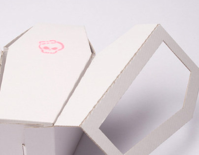 Coffin - Package for desserts and other sweets