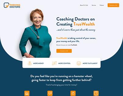 Thriving Doctors - Website Design