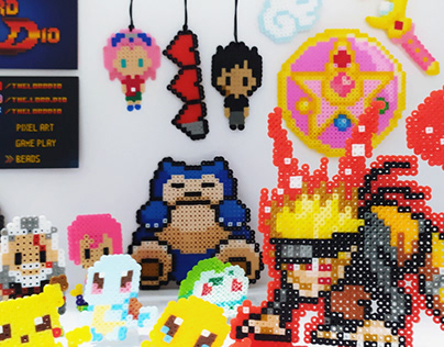 TheLordDioStore! Pixel Art & Fused Beads