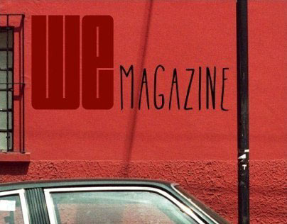 We Magazine Collaborations