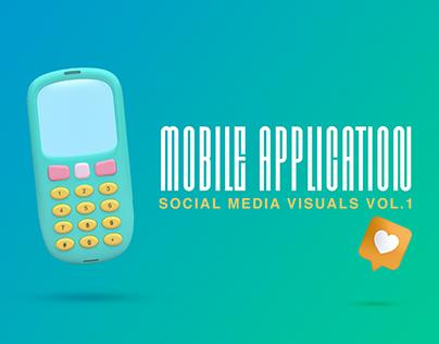 Mobile Applications - Social Media Visuals
