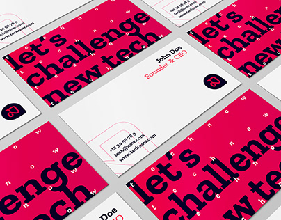 Technow Design Challenge - Visual Identity