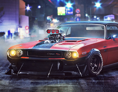 Dodge Challenger RT 1970 Wrath | Personal project
