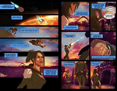 Black Star - a comic by Samuel Roberts & David Cousens