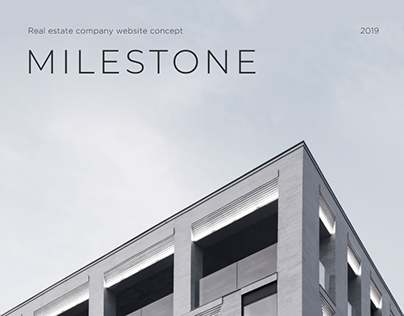 Milestone | Real estate company