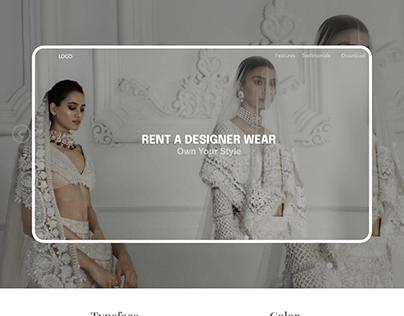 RentoWear - Website