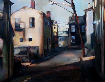 Oil Paintings 2013