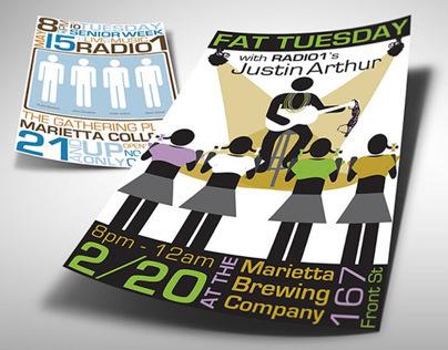 Justin Arthur & Radio 1 Musician/Band Posters