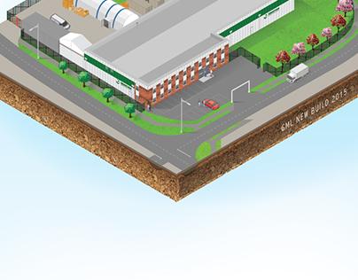 Isometric Building plans