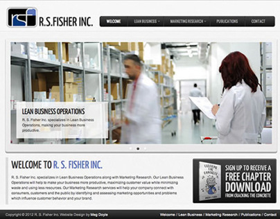R. S. Fisher Inc. Website