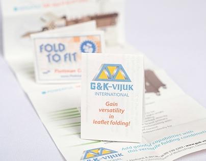 G&K - Vijuk Promotional Piece - Fold To Fit