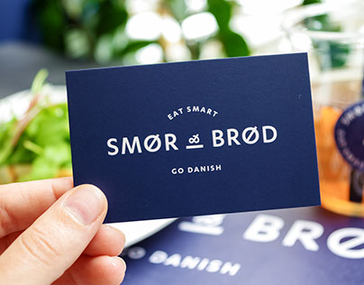Smør & Brød - Danish restaurant identity