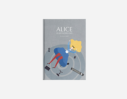 Alice in Wonderland — Book cover