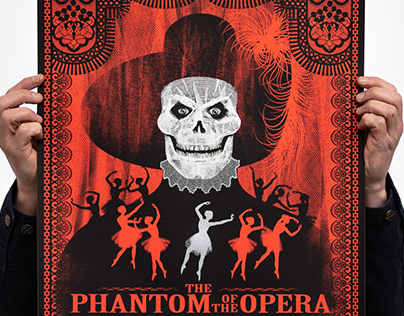 The Phantom of The Opera movie poster Dark City Gallery