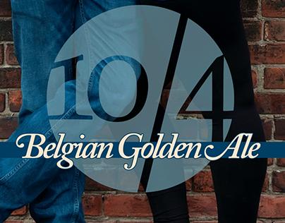 Bored Panda 10/4 Belgian Golden Ale   Beer Label