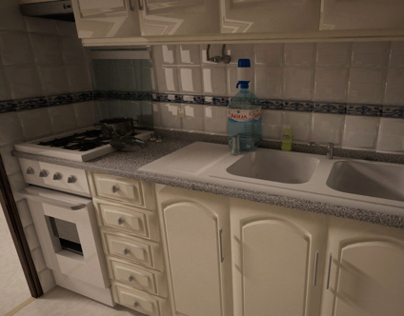 My Kitchen - Architecture Visualization