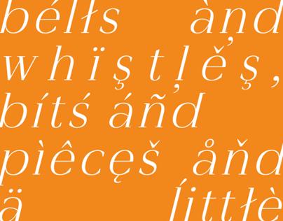 Venezian Typeface
