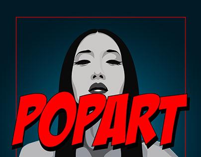 Pop-art illustration series