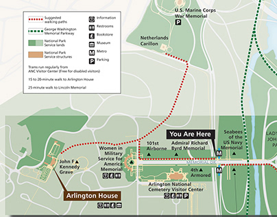 Maps for Arlington House