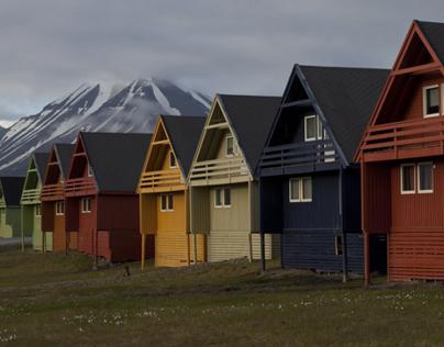 Svalbard. Panorama.