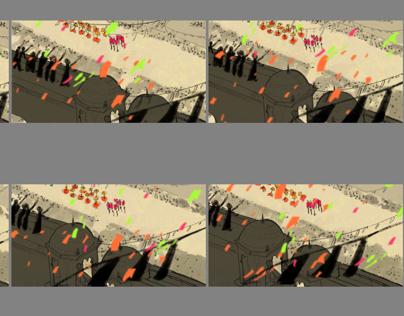 Parade// Storyboards