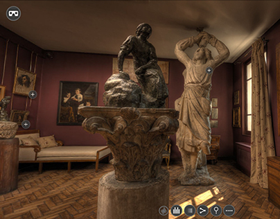 Virtual tour of the Musée Bourdelle ( Paris- France )