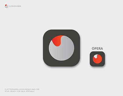 O letter logo, App Icon, Logo Design