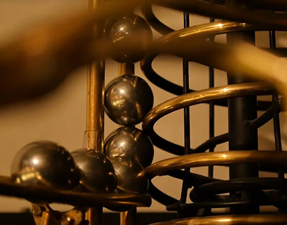 Kinetic Rolling ball Sculpture