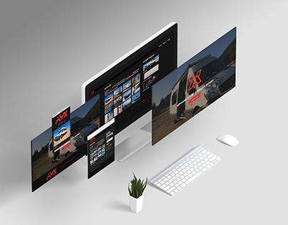 AVX Custom Website
