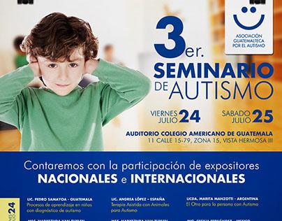 Poster Seminario de Autismo