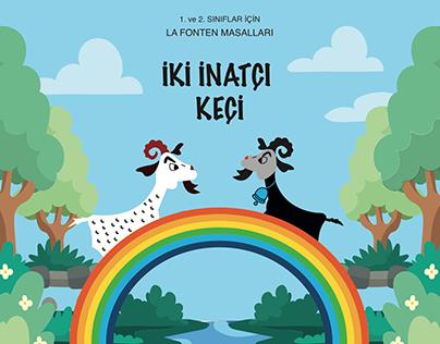 iki inatçı keçi çocuk kitabı