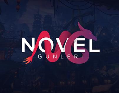 Novel Günleri - Visual Identity Design and Website UI