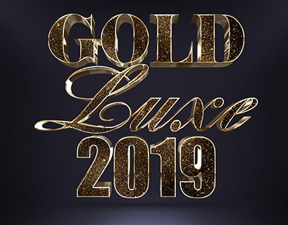 Glitter Gold 3D Text Effect Vol.1 (FREE DOWNLOAD)