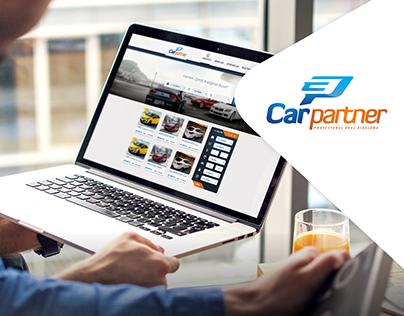 CarPartner - Rent A Car Web Experience Design